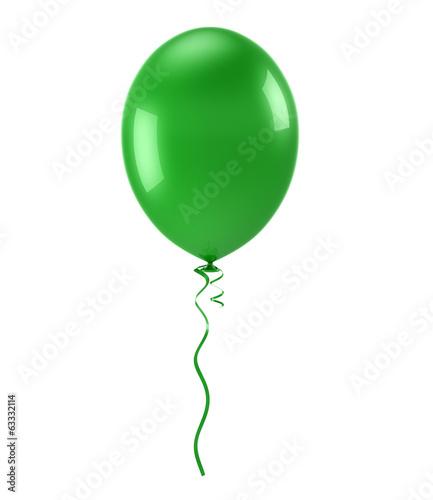 Obraz na plátne  Green Balloon