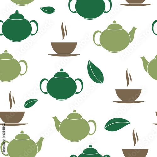 herbaciana-bezszwowa-deseniowa-tlo-wektoru-ilustracja