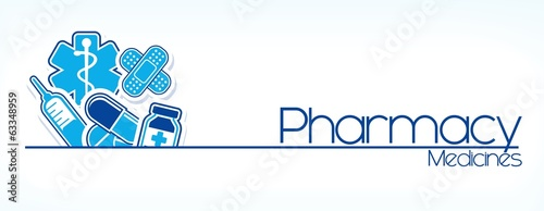 pharmacy design vector #63348959