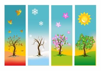 Cztery pory roku,