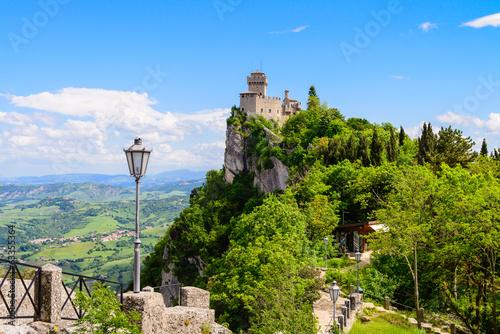 Castello della Cesta, fortress in San Marino republic, Italy