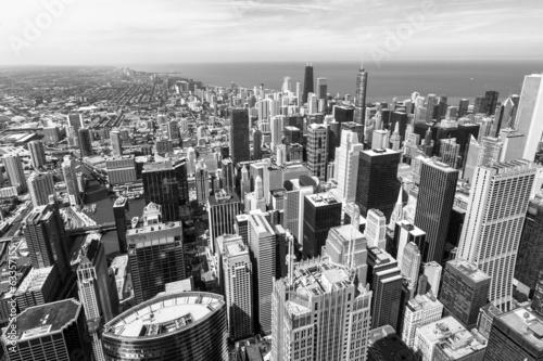 widok-z-lotu-ptaka-panorame-chicago