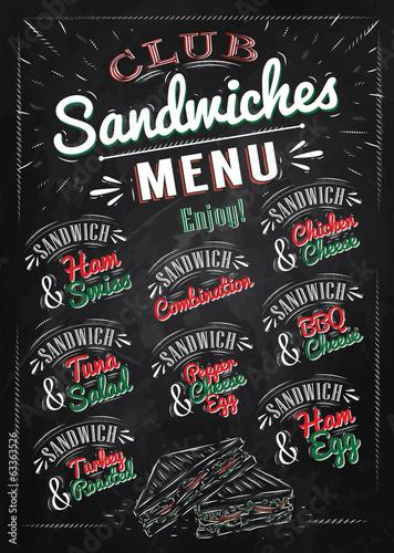 menu-kanapki-z-imionami-kanapek-szynka-szwajcarska-kurczak