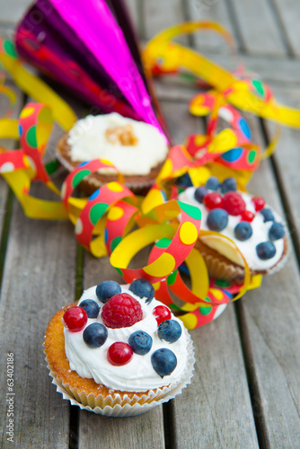 Party Muffins Buy This Stock Photo And Explore Similar Images At