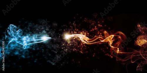 Obraz flash of lightning - fototapety do salonu