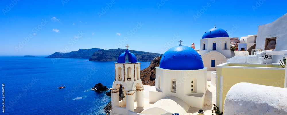 Fototapeta Oia Santorini Greece Europe