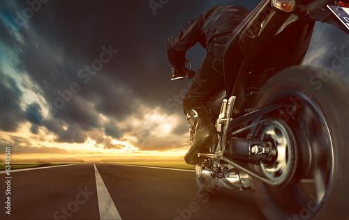 obraz PCV Przyspieszenie Motocykl
