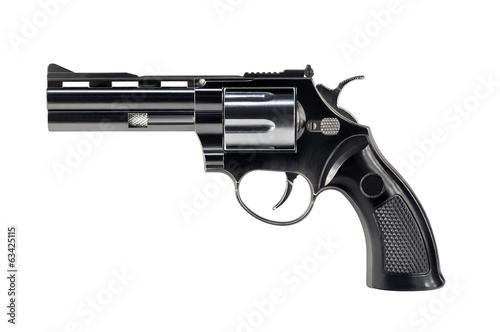 Fotografie, Obraz Black revolver