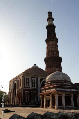 Stickers pour porte Delhi Inde 23 Dehli Minaret qutb minar