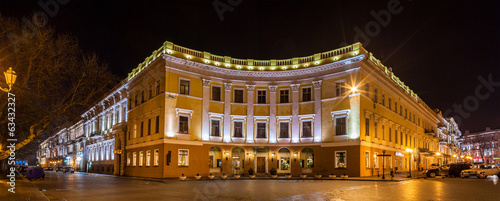 Staande foto Athene Buildings on Primorskiy bulvar in Odessa, Ukraine