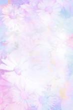 Pretty Daisies Artistic Background
