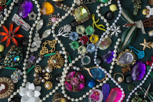 Costume Jewelry Collage