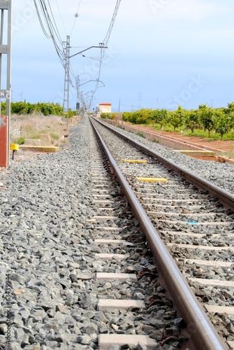 Fotografía  Vía de tren