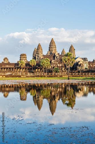 Spoed Fotobehang Bedehuis Angkor Wat