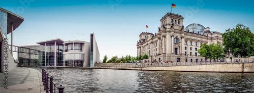 Poster Berlin Berlin - Regierungsviertel