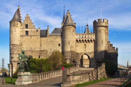 Papiers peints Antwerp Steen castle, Antwerp Balgium