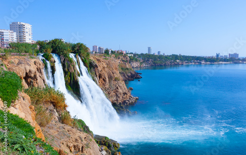 Poster Turquie Waterfall Antalya, Turkey