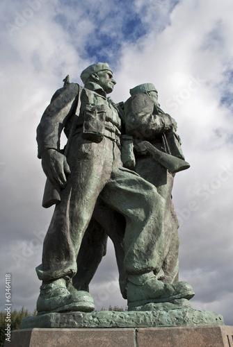 Fotografía  the commando memorial