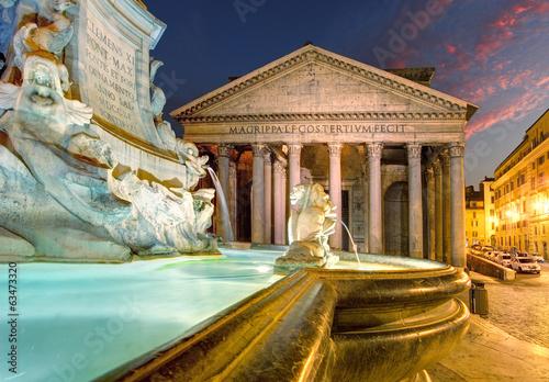 Poster Rome Pantheon - Rome