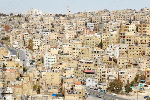Fotobehang Midden Oosten Amman buildings view in the morning in Amman, Jordan
