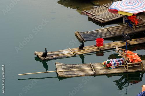 Yu Long river landscape in Yangshuo, Guilin, China