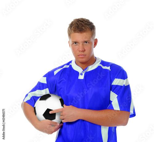 Fotografie, Tablou  Footballer player