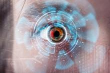 Futuristic Modern Cyber Man Wi...