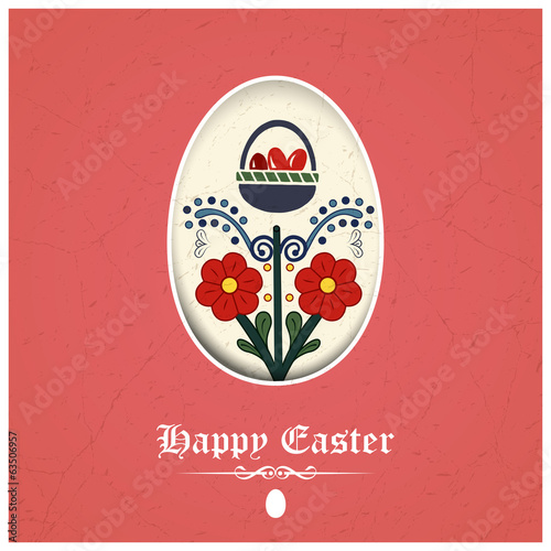 Traditional easter greeting card buy this stock vector and explore traditional easter greeting card m4hsunfo