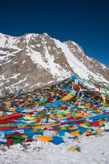 Drolma La (5636m) is the high pass on the Kailash Kora.