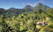 Traumhafte Landschaft auf Dominica - Karibik