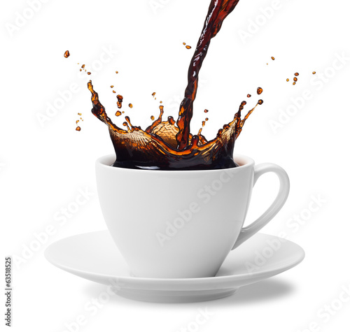pouring coffee - 63518525