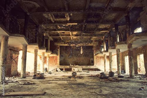 Papiers peints Les vieux bâtiments abandonnés Abandoned