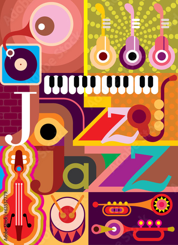 Naklejki na laptopa jazz