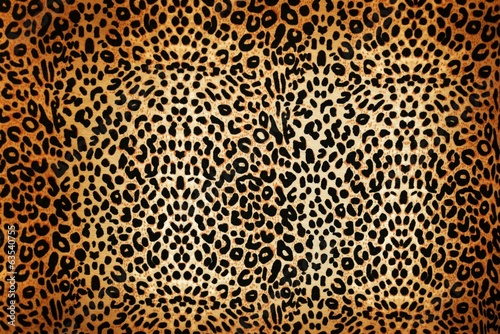 Door stickers Leopard leopard pattern
