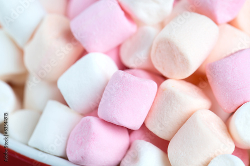 Fotografia  marshmallow background