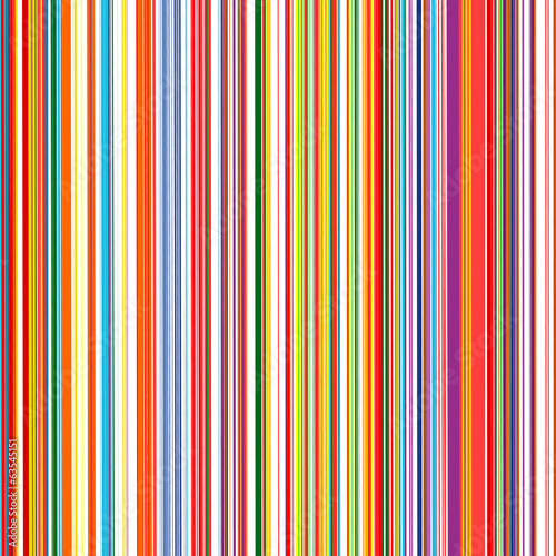 Fotografie, Obraz  Abstract color stripes background