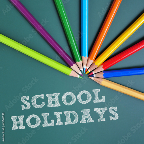school holidays Fototapeta