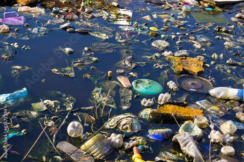 Environment pollution Fotobehang