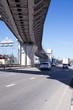 Road junction in Sochi, Russia