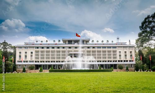 Reunification Palace, landmark in Ho Chi Minh City, Vietnam