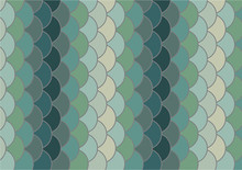 Fish Scale Vector Background