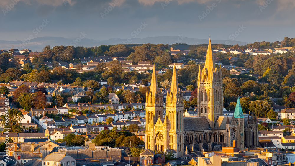 Fototapety, obrazy: Truro Cathedral Cornwall England