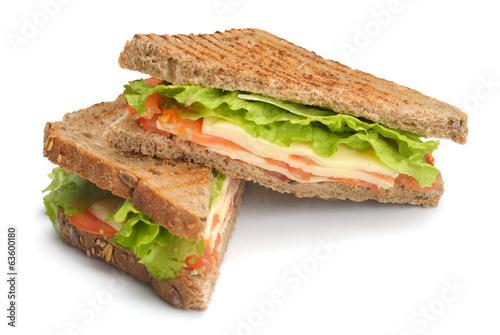 Keuken foto achterwand Snack sandwich