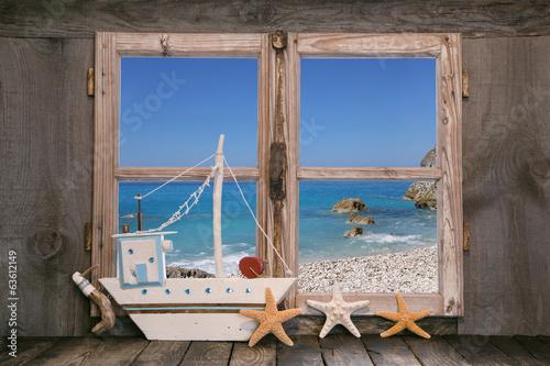 Traumurlaub am Meer - Hintergrund Ozean