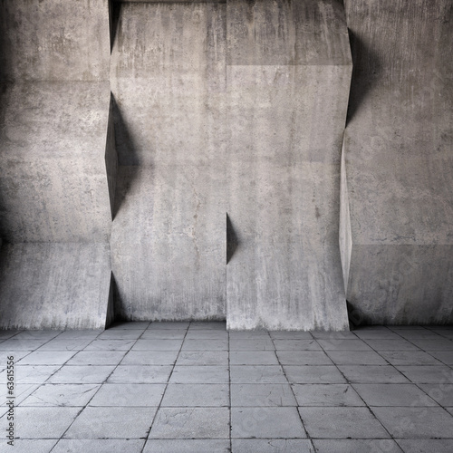 abstrakcyjna-sciana-3d