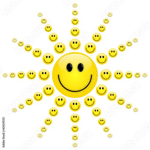 Sonne emoticon ☀️ Black