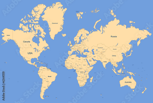 Fotografia  World Map