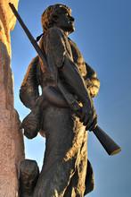 Mormon Battalion Monument, Salt Lake City, Utah