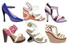 Collection Of Fashionable Wome...