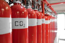 Large CO2 Fire Extinguishers